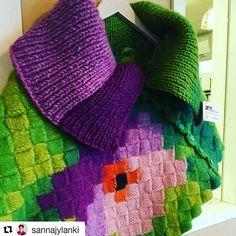 #Repost @sannajylanki with @repostapp ・・・ @byitu.fi eiks tää oo teidän? #käsityö #handmade #finland @lakardemumma #matkailu #yrittäjyys #suomi Itu, Blanket, Crochet, Instagram Posts, Design, Ganchillo, Blankets, Cover