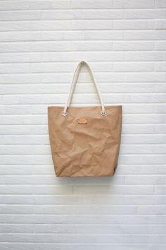 Bolsa de tela venta-Kraftpaper en Natural con correa por Womensgirl