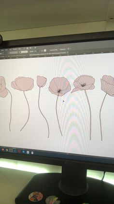 My creative process of designing some flower seamless patterns in Adobe Illustrator using my hand drawn illustrations Illustration Design Graphique, Pattern Illustration, Digital Illustration, Graphic Illustration, Design Illustrations, Character Illustration, Flower Graphic Design, Graphic Design Pattern, Graphic Design Tutorials