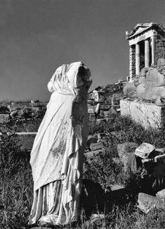 Island of Delos. Cyclades, circa Voula Th. Benaki Museum, Museum Shop, Educational Programs, Female Photographers, Virtual Tour, Old Photos, Mount Rushmore, Greece, The Past