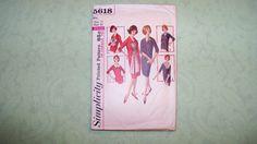 Vintage Simplicity Pattern  5618  Dress   Size 16 by DellaNora