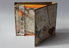 Ideas Para, Decorative Boxes, Scrap, Home Decor, Heart Shapes, Mini Albums, Hearts, Blue Prints, Colors