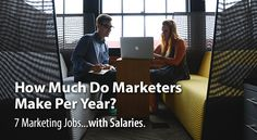 This marketing salaries guide comes with marketing job descriptions and salaries along with a typical marketers career path. So, how much do marketers make?