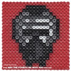 Kylo Ren - Star Wars: The Force Awakens perler beads by May the 4th be with You Party Anette
