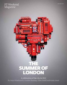 Because I'm sad the Olympics are over. London love via Things Organised Neatly (FT Weekend 'London Guide' by Kyle Bean and Victoria Ling) Things Organized Neatly, Weekend In London, London Guide, British Things, London Calling, Union Jack, Cool Stuff, Random Stuff, The Places Youll Go