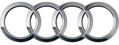 The four-ring logo debuted in 1932.  Need Audi logo parts?  Check them out here:  http://www.eurosporttuning.com/audi/exterior/grille/osir-audi-logo-base-support-for-mask-a4-b7.html