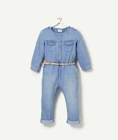 LA COMBINAISON BRIDE DENIM BLUEBLACK, Jeans, mode enfant | Tape à l'œil