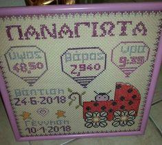 Baby Set, Baby Birth, Boards, Babies, Quilts, Blanket, Names, Punto De Cruz, Ornaments