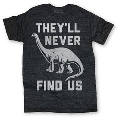 Never Find Us Tee Men's, $12, now featured on Fab.