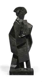 Jacques Lipchitz (1891-1973)  Arlequin à la clarinette