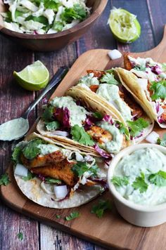 Blackened-Fish-Tacos-with-Avocado-Cilantro-Sauce-7