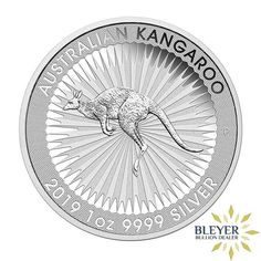 2019 P Australia Silver Kookaburra 1oz BU 10pc