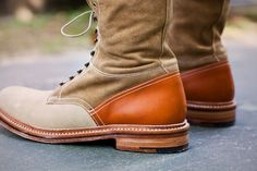 Sole Boot by Garbstore x Grenson