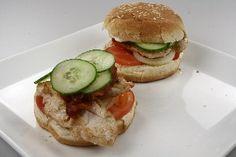 Kalkun- og baconburger 4