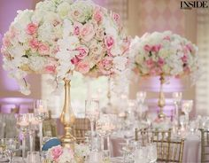 Luxurious & lush!  (: G&T Photography, Floral & event design: @KeshDesigns)