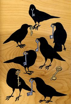 seven for a secret by rantipole, via Flickr... Reminds me of The Abhorsen's silver keys!