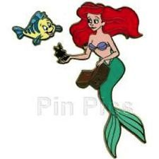 The Little Mermaid:  Ariel undersea adventure opening day pin le 1000