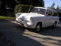 Black-Plate 1962 Ford Anglia 105E Estate