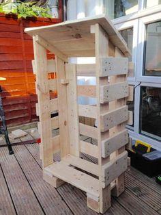 Iniciar pequeña tienda de la paleta de madera de palets Cobertizos de paletas Cabinas, paletas Huts & paletas Casas de juegos