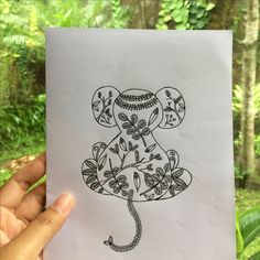 Botanical in mouse