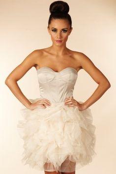 Opulence Corset Ballerina Dress
