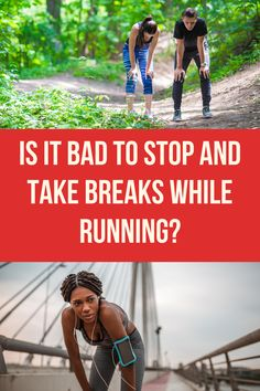 As runners, we're all fighting the urge to stop and take breaks while we're running. Is it ok to do? Does it actually hurt your running performance in any way? Let's find out! Spartan Race Training, Half Marathon Training, Sports Training, Running Routine, Running Workouts, Group Fitness, Fitness Tips, Health Fitness, Running Race