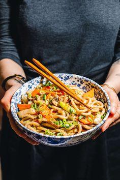 Quick Easy Vegan, Vegan Recipes Easy, Asian Recipes, Vegetarian Recipes, Ethnic Recipes, Korean Food, Soul Food, Food Inspiration, Meal Prep