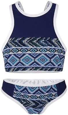La-V La-V Mädchen Bikini Zweiteilig Sport Navy-Jeans/Größe 140/146 Bikinis: Amazon.de: Bekleidung Bikinis, Swimwear, Sport, Fashion, Shopping, Clothing, Bathing Suits, Moda, Swimsuits
