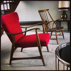 2 fab chairs we have for sale! #melbourneshopping #melbournestyle #melbournedesign #melbourne #yarraville #spotwood #midcentury #midcenturyfurniture #midcenturydesign #20thcenturyfurniture #20thcenturydesign #danishfurniture #melbournecity #retro #retrofurniture