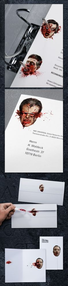 """Jacques Pense: 13th Street """"Stationery of Horror"""""""