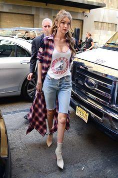 Gigi Hadid Fashion Style File - Image 133