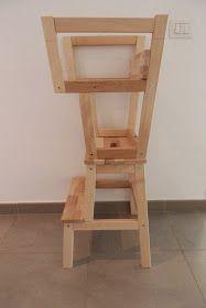 Finalmente hemos tenido suerte y Papá Manitas nos regaló una torre de aprendizaje! Una torre de aprendizaje es una estructura que permite a...