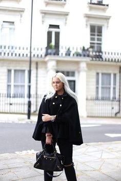 Swedish blogger Elin Abrahamsson wearing Busnel