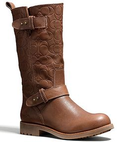 Coach had a similar boot a couple of years ago when they collaborated with Frye for a boot collection..the Campus boot. That boot is still my all time favorite boot by any brand.