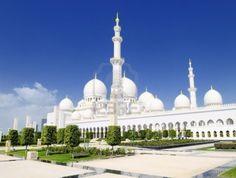 Bouwkunst. Sjeik Zayed-moskee