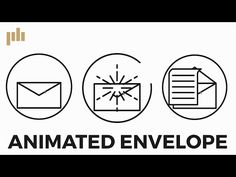 How to Create an Animated Envelope in After Effects - YouTube