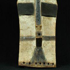 Large Old Kifwebe Mask LUBA / SONGYE