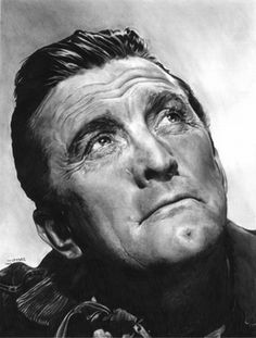 Incredible Pencil Art - Kirk Douglas
