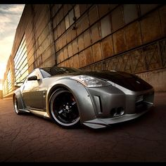 Nissan 350Z veilside sunset  #streetaddicts you are a bad Machine yes you are - @streetaddicts- #webstagram