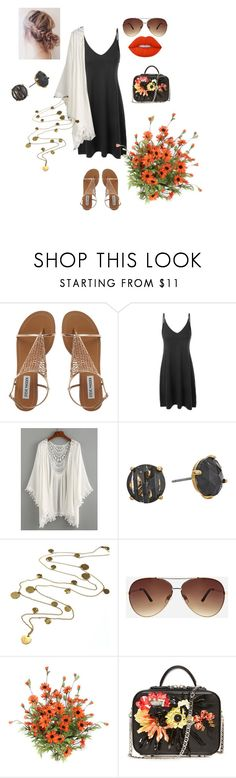 """""""Untitled #997"""" by erin-mccamy ❤ liked on Polyvore featuring LE3NO, Kate Spade, Boutique by Jamie, Ashley Stewart, La Perla and Lime Crime"""