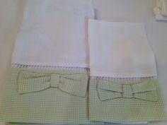 Enxoval de Bebe- Fralda de ombro (0,70 x 0,70cm) e babeiro