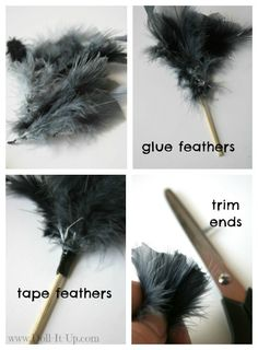 feather duster Diy Doll Miniatures, Dollhouse Miniature Tutorials, Dollhouse Ideas, American Girl Crafts, American Girls, Ag Doll House, Harry Potter Items, Feather Duster, Doll Dress Patterns