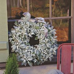 Decorate With Nature's Silver from SouthernLiving.com directions with live Dusty Miller plants