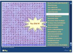 """Sample of what the empowerpuzzles.com puzzles look like ; ) Click on the pic and it will take you to the site, go to the """"Free Puzzles"""" tab and play free puzzles to try before you subscribe... only $4.95 a month.  Have access to all books in the series, plus be the first to play the latest edition, perks for being a member."""