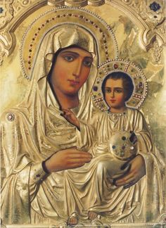 Our Lady of Jerusalem - my favourite icon! Byzantine Icons, Byzantine Art, Religious Icons, Religious Art, Blessed Mother Mary, Holy Mary, Madonna And Child, Art Icon, Orthodox Icons