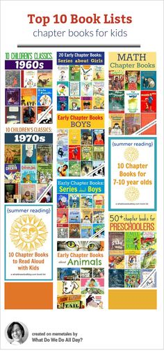 Top Kids' Book Lists of 2013 {Chapter Books} - I ADORE @Erica Cerulo Cerulo Cerulo Cerulo Cerulo Cerulo • What Do We Do All Day? 's book lists!!!