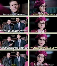 "[GIFSET] 10x05 ""It's a classic!"" #Supernatural #Supernatural200th"