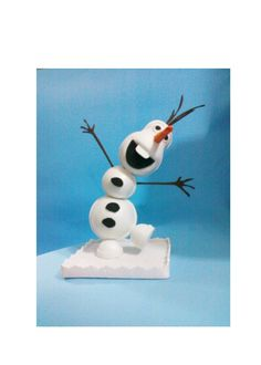 Olaf doll, foam doll, cake topper, party decor, birthday decoration, table decoration,frozen favors, party favors,frozen party,olaf doll by PatuskaCreations on Etsy https://www.etsy.com/listing/217230422/olaf-doll-foam-doll-cake-topper-party