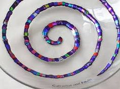 Image result for fused glass art