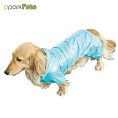 Dog Pocket Raincoat - Turquoise - 6L * Check this awesome image  : Dog coats